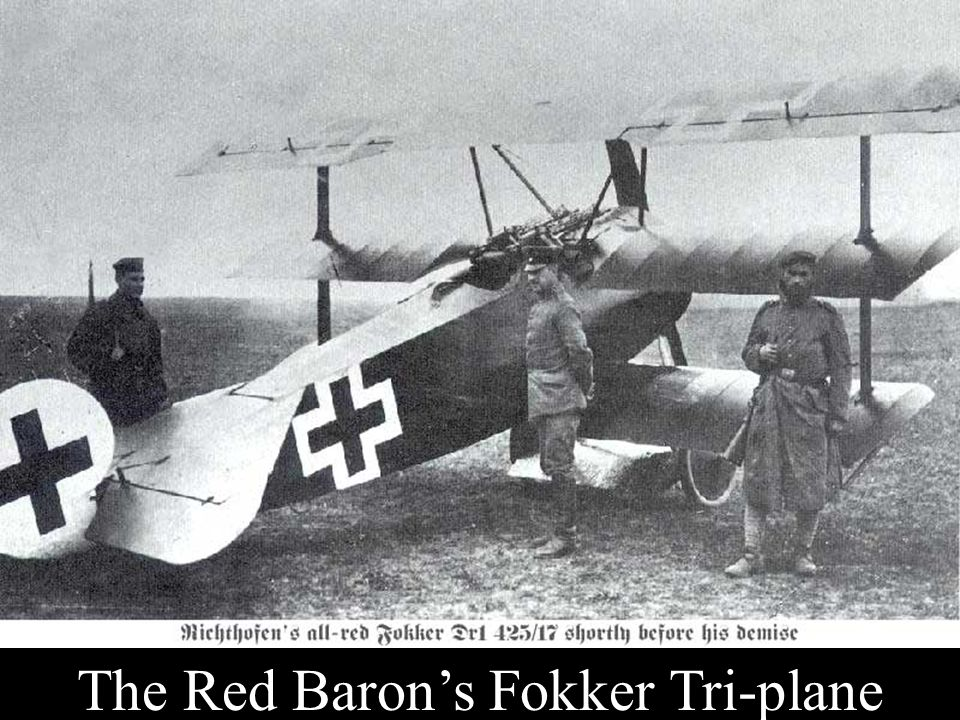 The Red Baron's Fokker Tri-plane