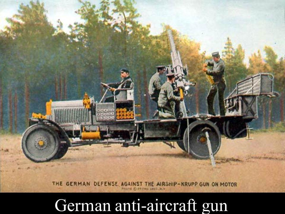German anti-aircraft gun