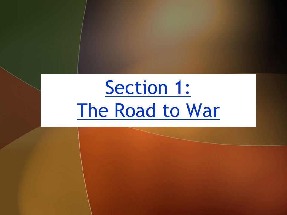 The World War I Era (1914–1920 ) The World War I Era (1914–1920 ) Chapter 19