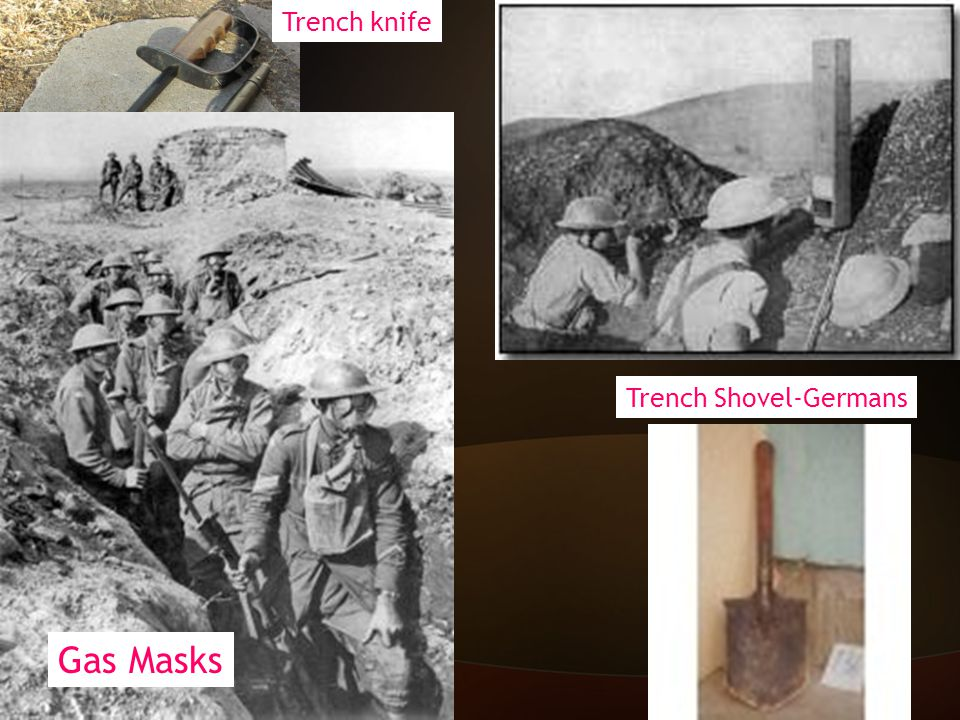 Weapons of WWI New Technology + old tactics = horrible losses