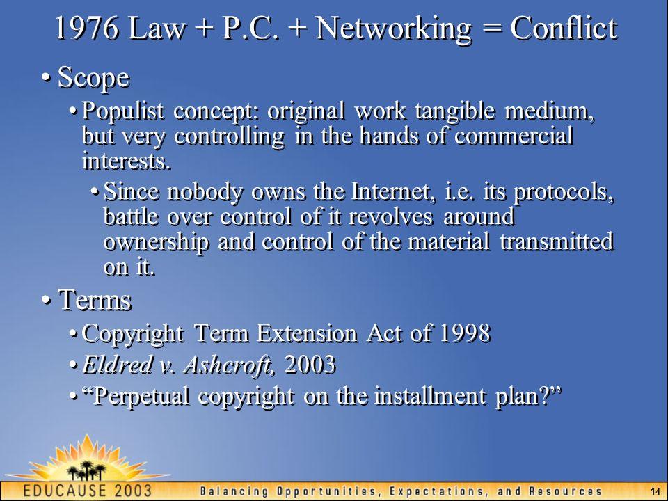 14 1976 Law + P.C.
