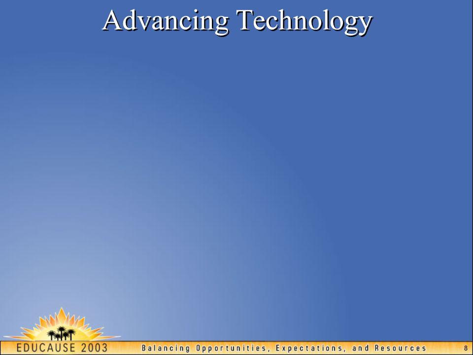 8 Advancing Technology