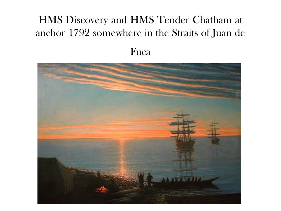 HMS Discovery was the expeditions lead ship H.M.S.