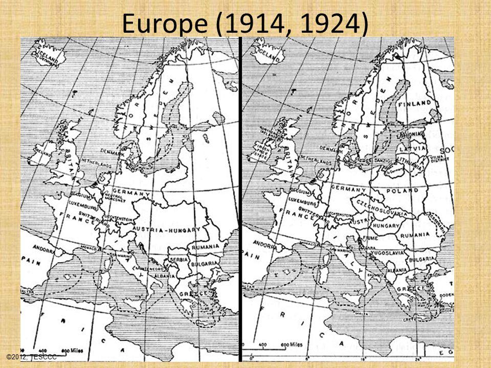 Europe (1914, 1924) ©2012, TESCCC