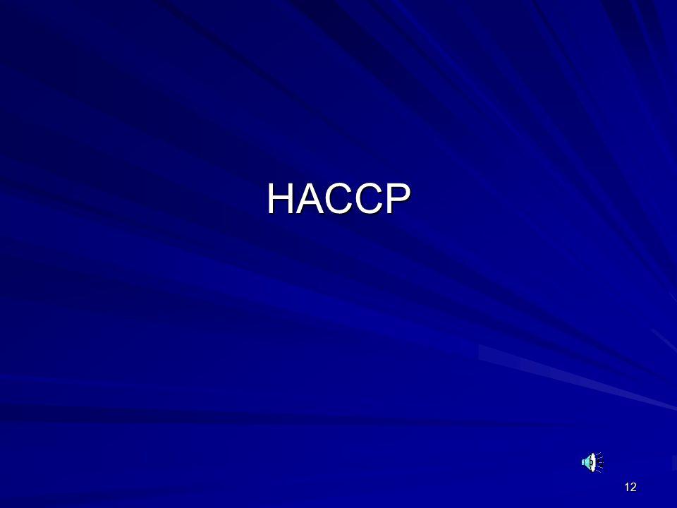 12 HACCP