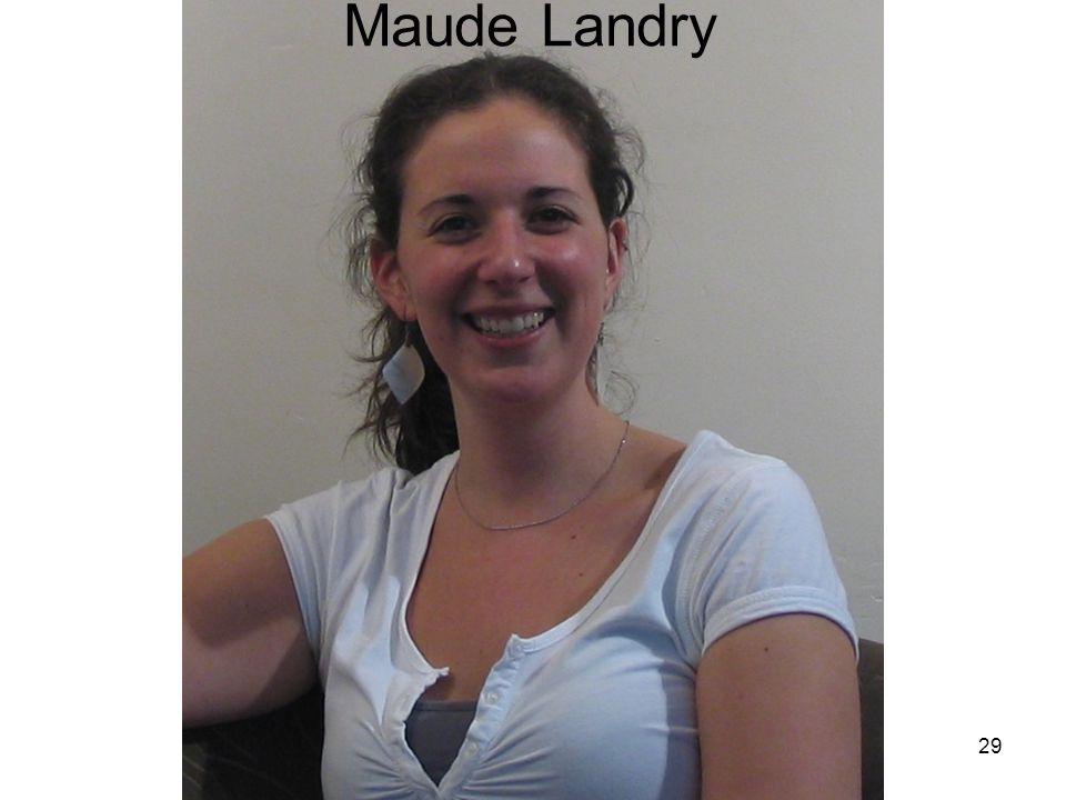 29 Maude Landry