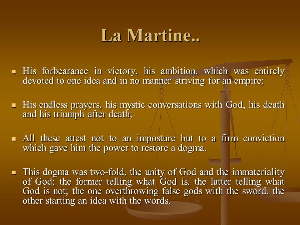 La Martine..