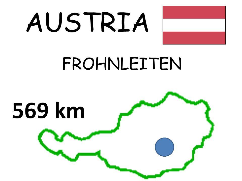 AUSTRIA FROHNLEITEN 569 km