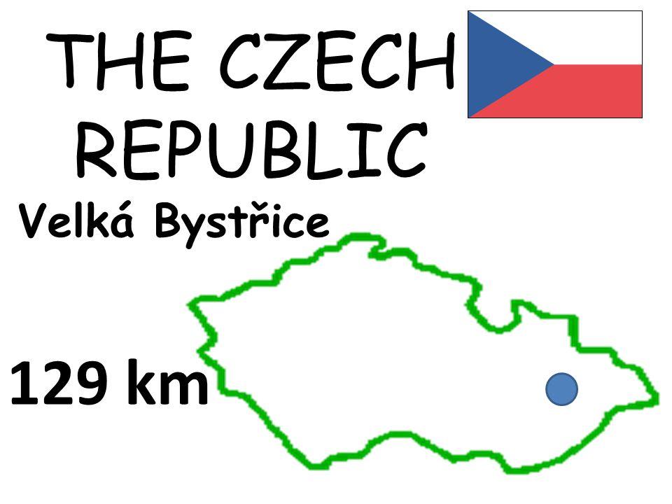 THE CZECH REPUBLIC Velká Bystřice 129 km