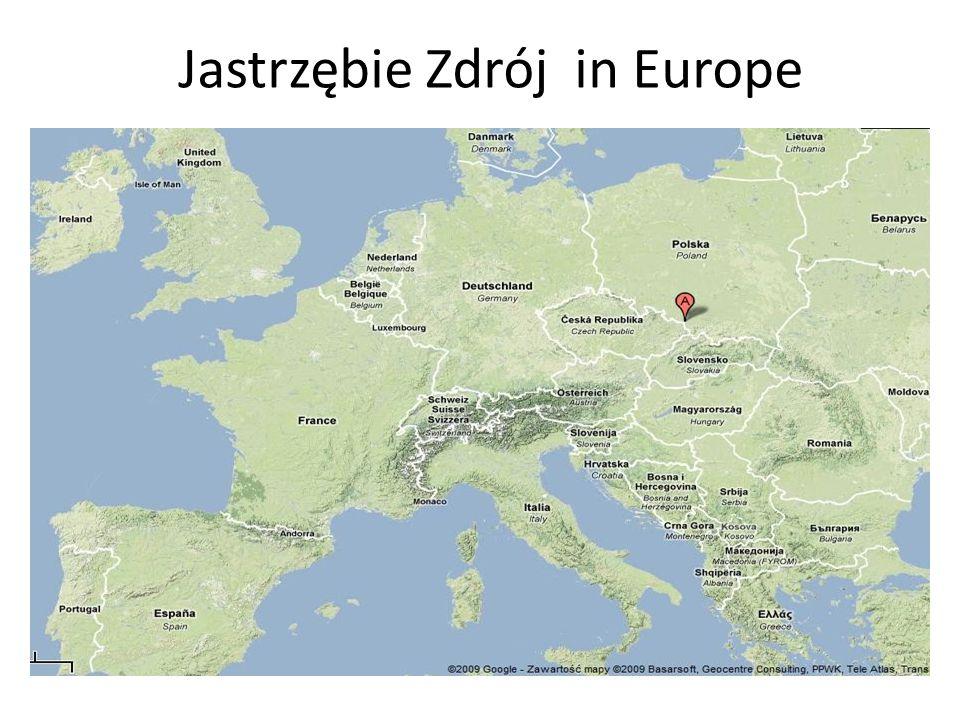 Jastrzębie Zdrój in Europe