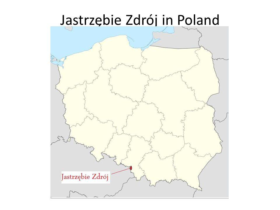 Jastrzębie Zdrój in Poland