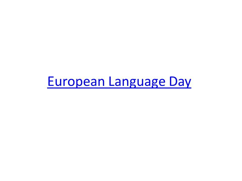 European Language Day