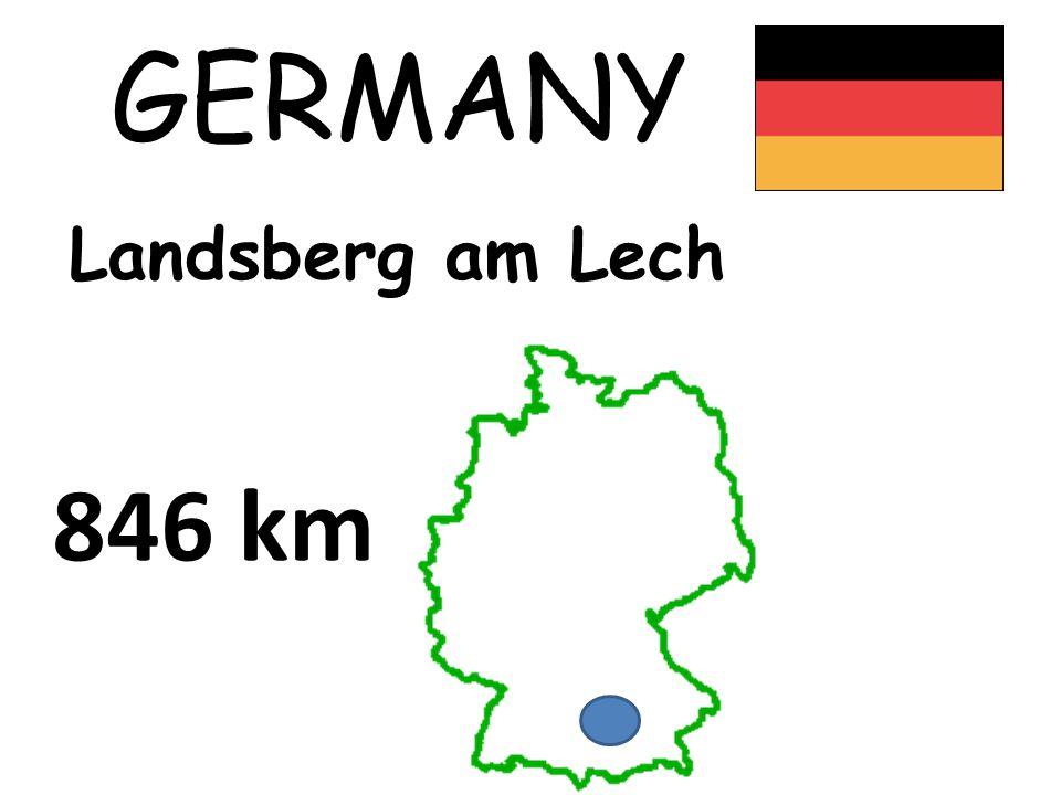 GERMANY Landsberg am Lech 846 km
