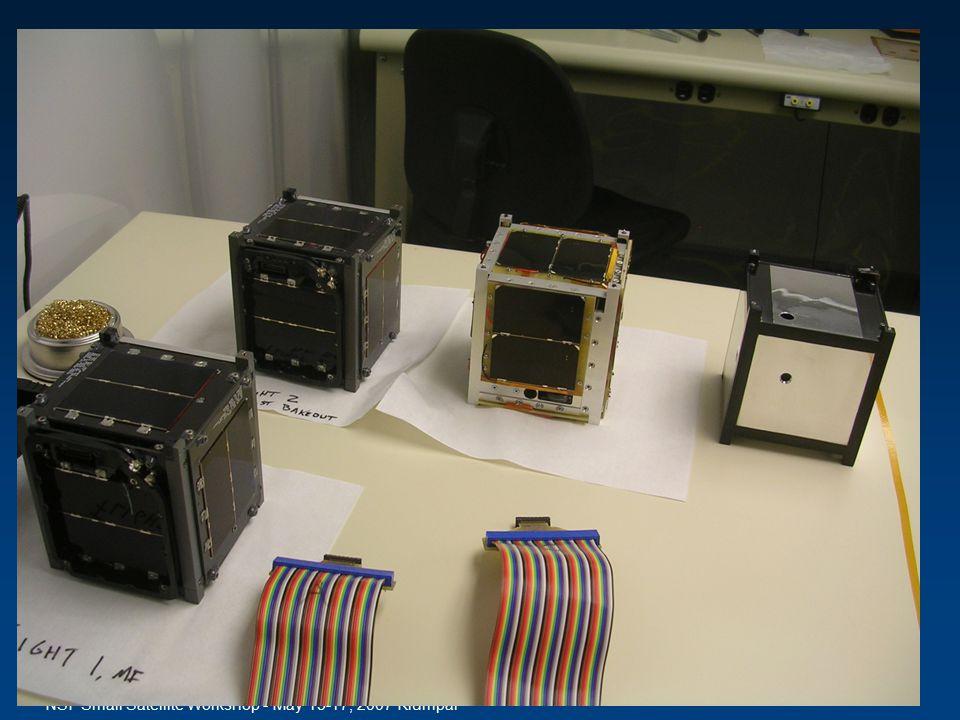 NSF Small Satellite Workshop - May 15-17, 2007 Klumpar