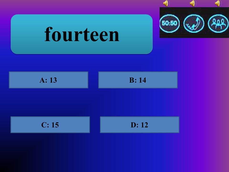 25 A: twenty fiveB: twenti five C: tventy-fiveD: twenty-five