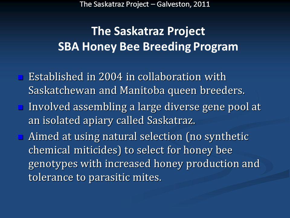 Established in 2004 in collaboration with Saskatchewan and Manitoba queen breeders. Established in 2004 in collaboration with Saskatchewan and Manitob