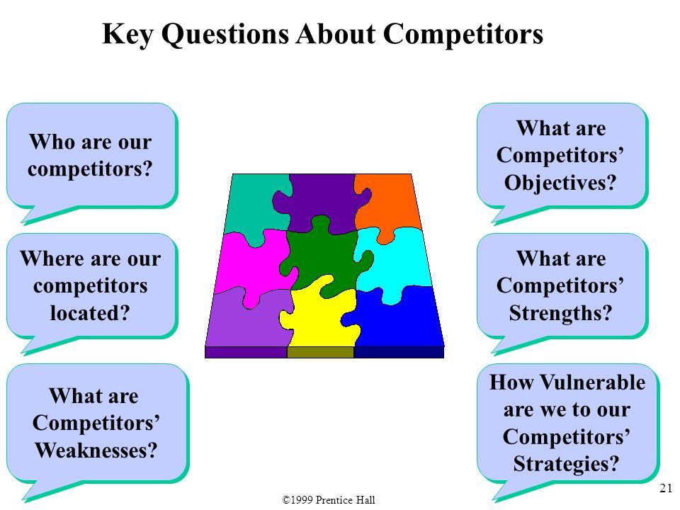 21 Who are our competitors. Who are our competitors.