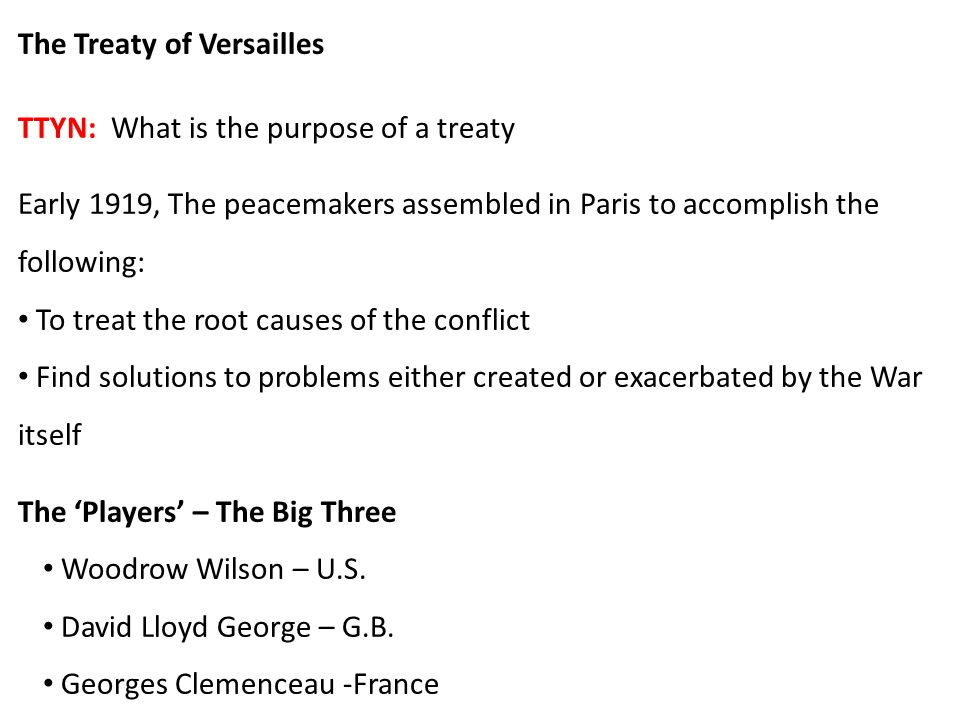 Timeline Armistice Day Nov. 11, 1918 Treaty Negotiations Commence Early 1919