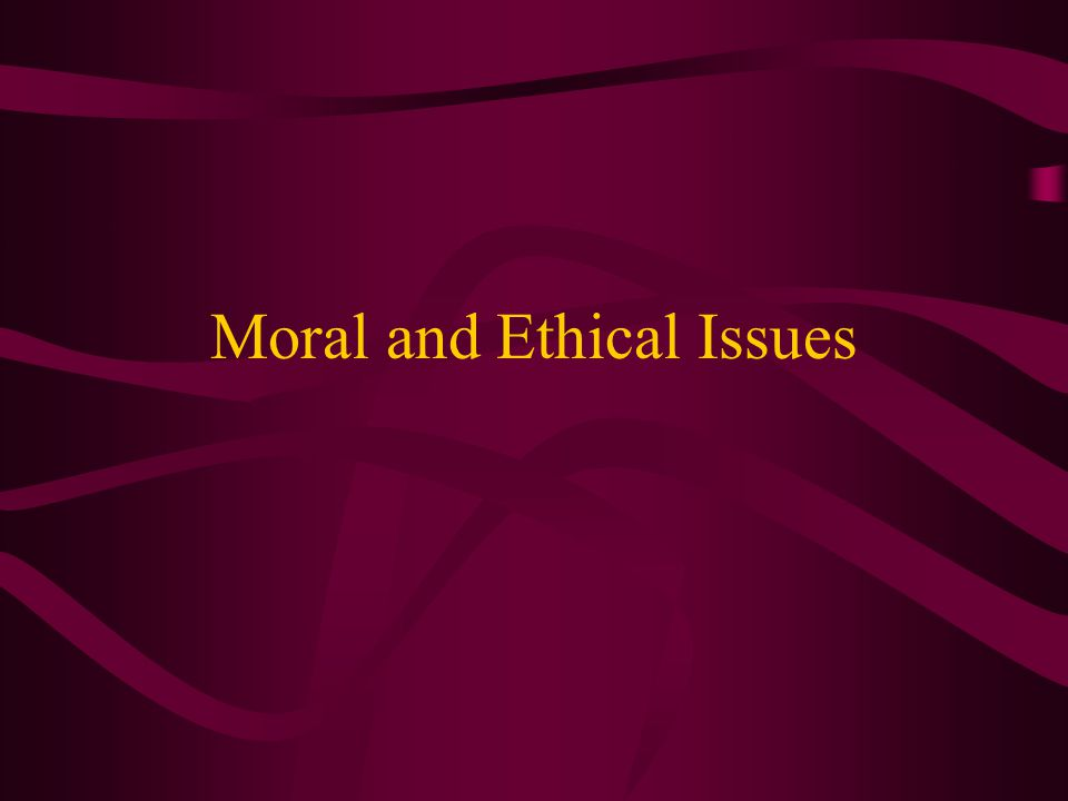Definitions Morals - concerned with principles of right and wrong or conforming to standards of behavior and character based on those principles Ethics - a set of moral principles or values