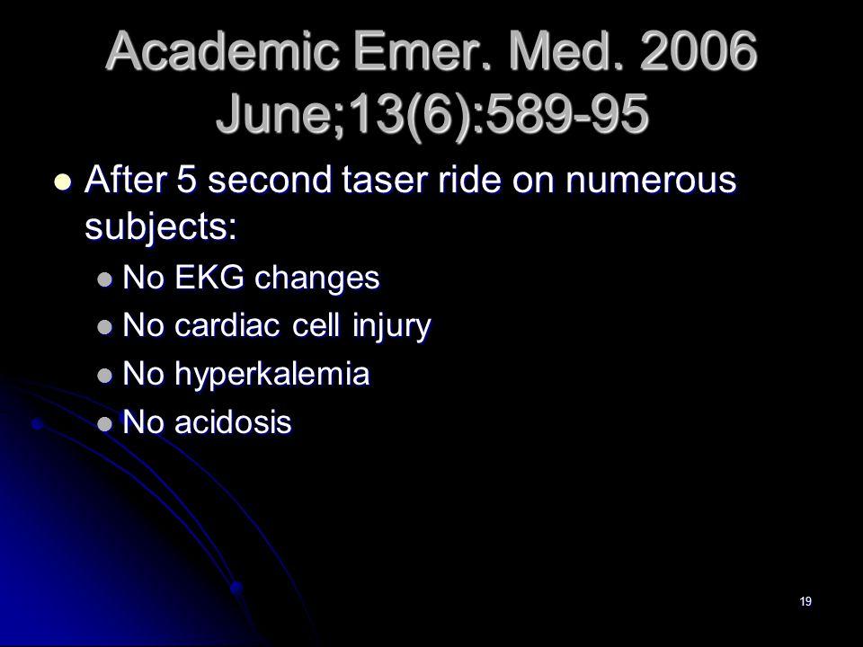 19 Academic Emer.Med.