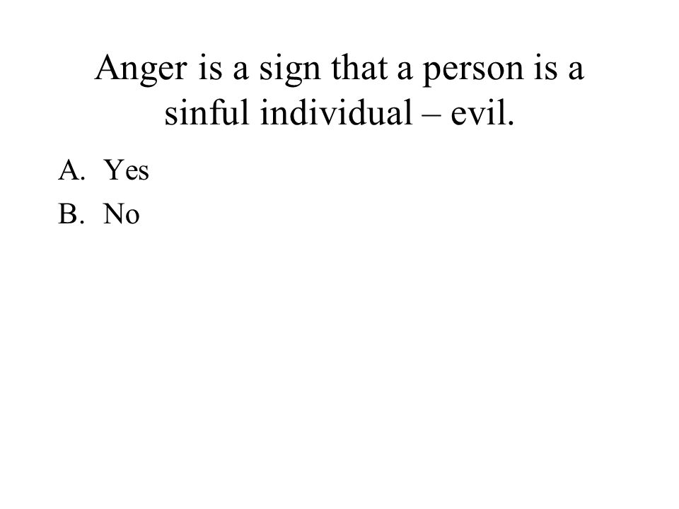 "Subject: Anger Management Information: From the book ""The Other Side Of Love"" by Dr. Gary Chapman Class: AFJROTC"