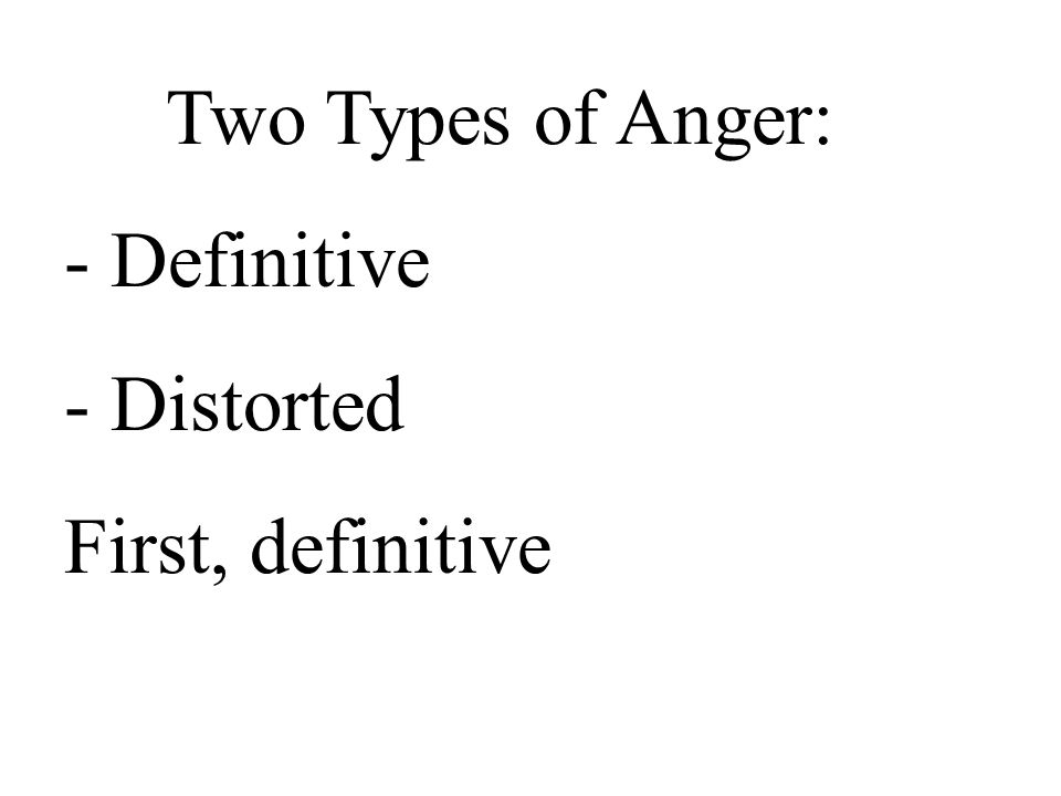 My motivation in handling anger must be guided by___________. Love