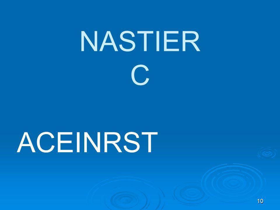 10 NASTIER C ACEINRST
