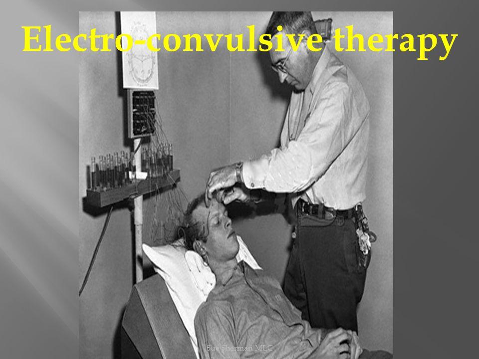 Sue Sherman MLC Electro-convulsive therapy