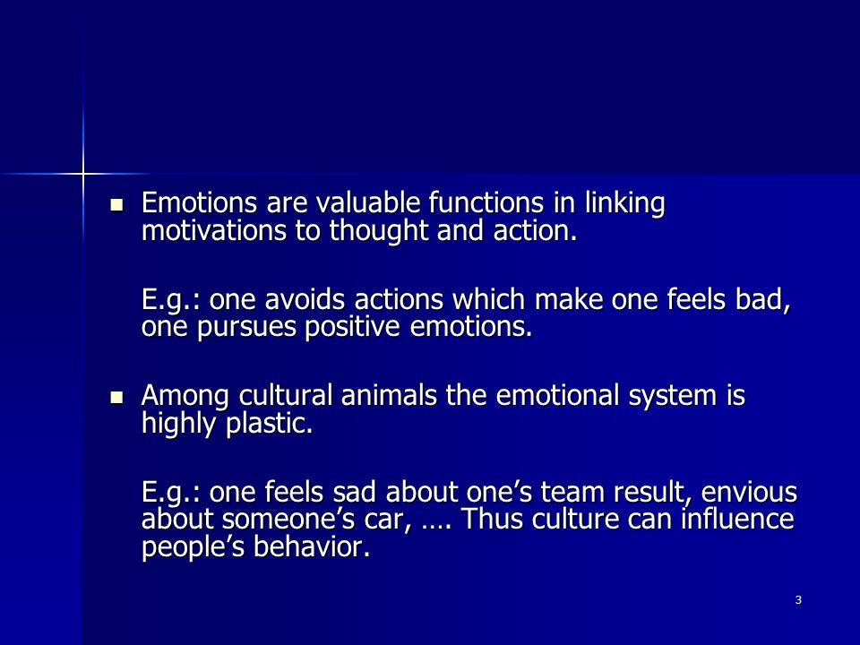 4 The nature of emotions The nature of emotions emotions vs.