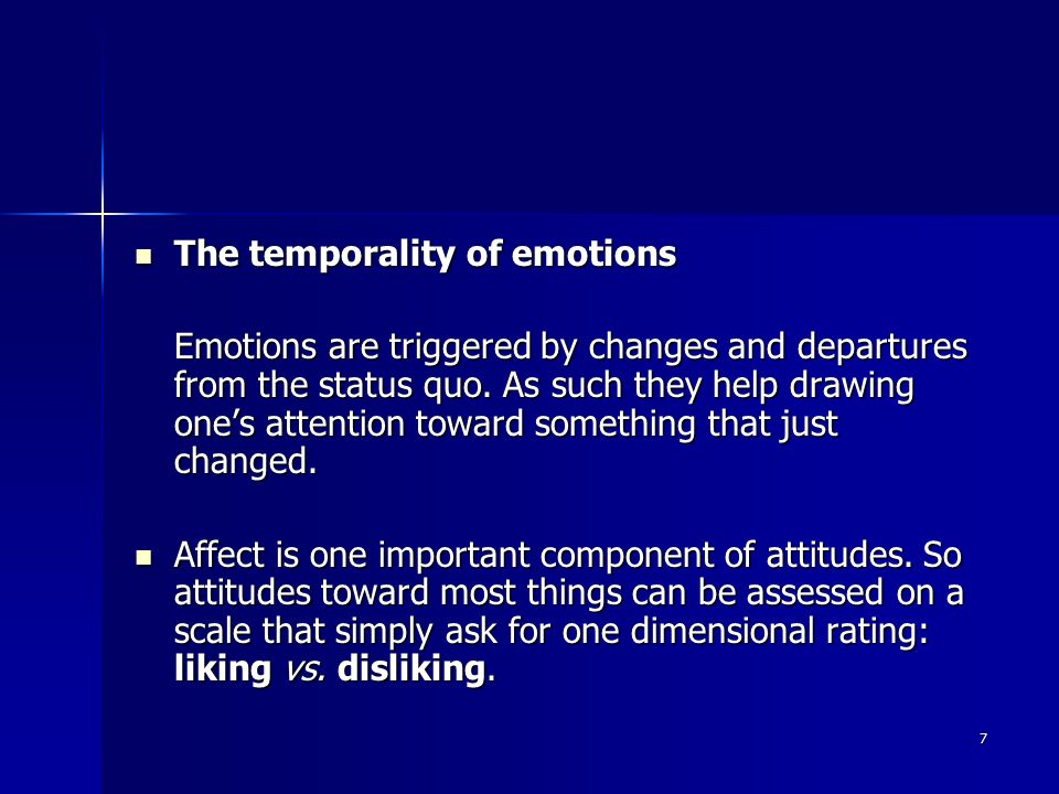 18 Emotions get the body ready for action and arise in connection with the image of the anticipated outcome.