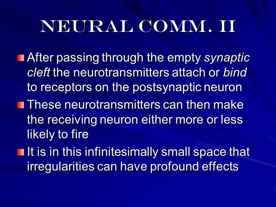Neural comm.