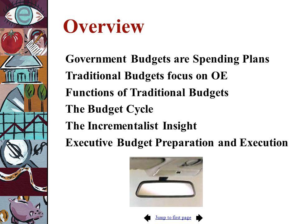 Next page Budget Formulation