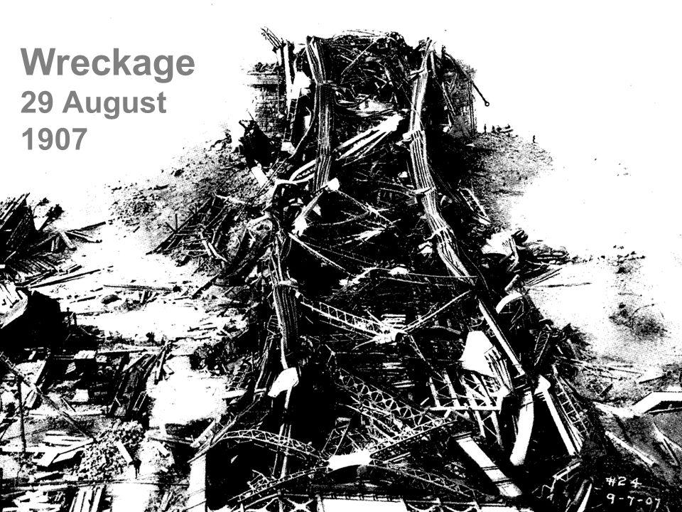 Wreckage 29 August 1907