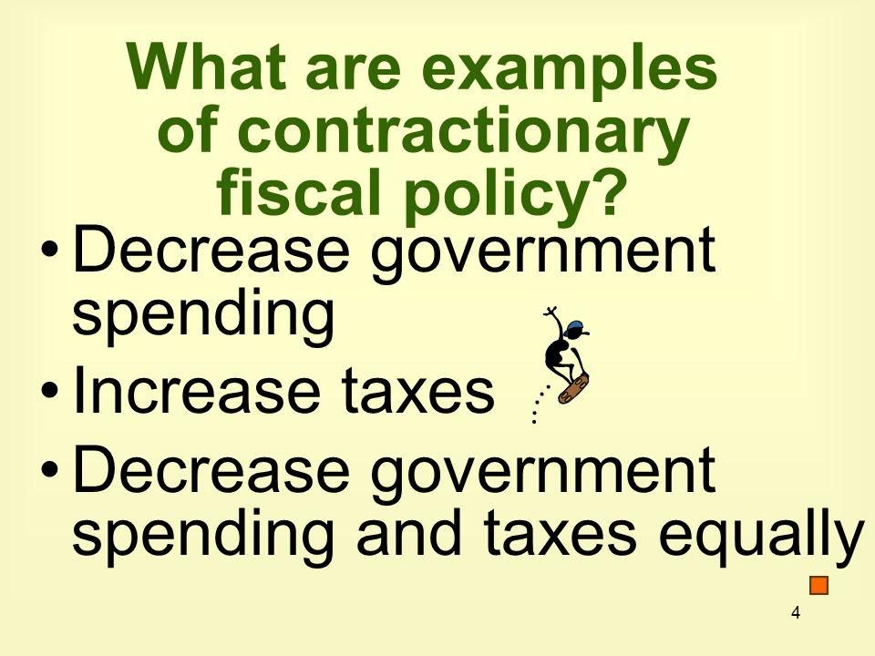 5 $6$6.1$6.2 AS 0 150 155 AD 1 AD 2 Real GDP E2E2 X E1E1 155 Government Spending to Combat a Recession Price Level full employment