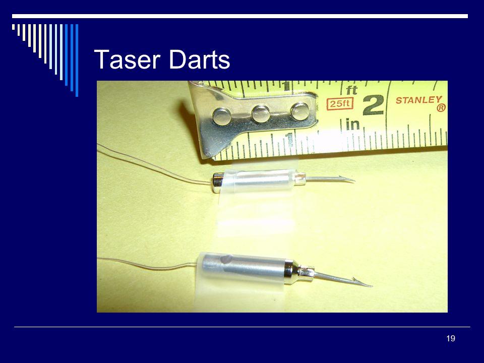 19 Taser Darts