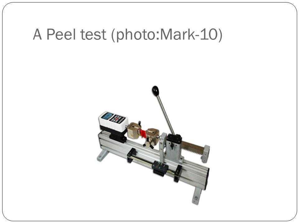 A Peel test (photo:Mark-10)