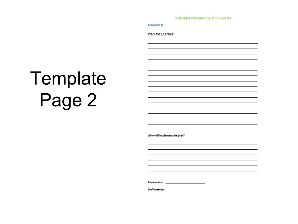Template Page 2