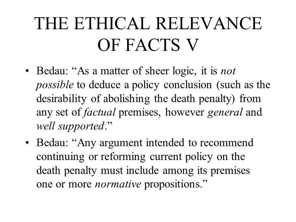 The Ultimate Punishment: a Defense Ernest van den Haag