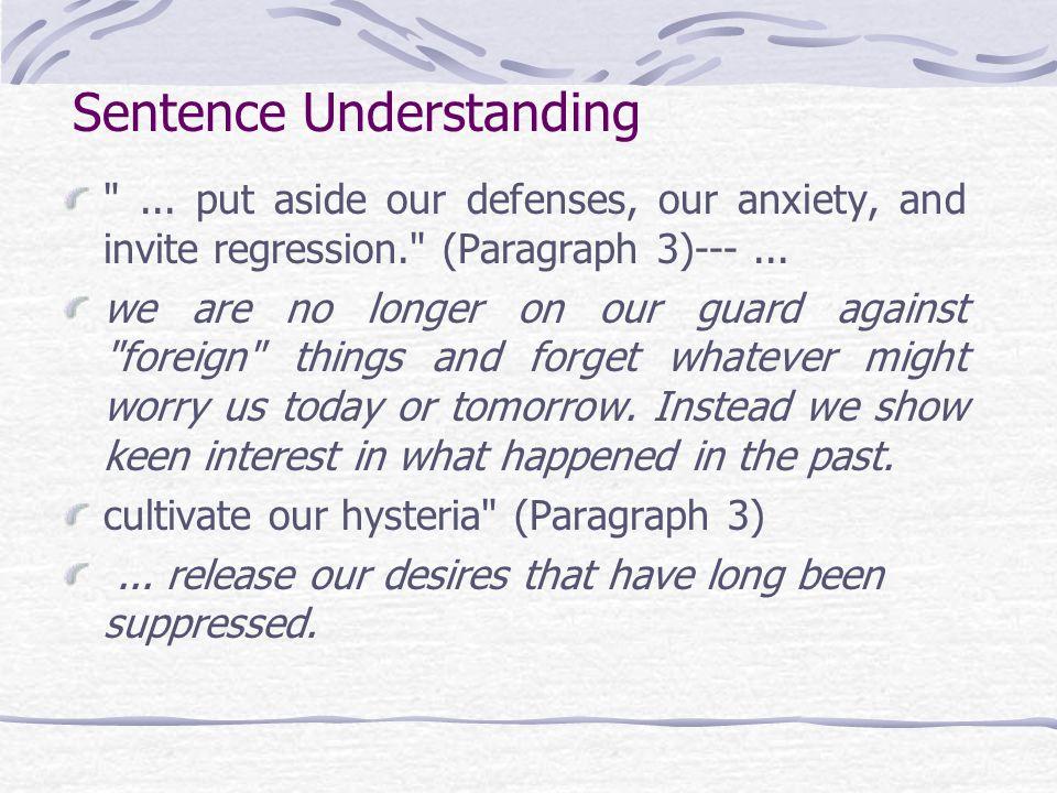 Sentence Understanding ...