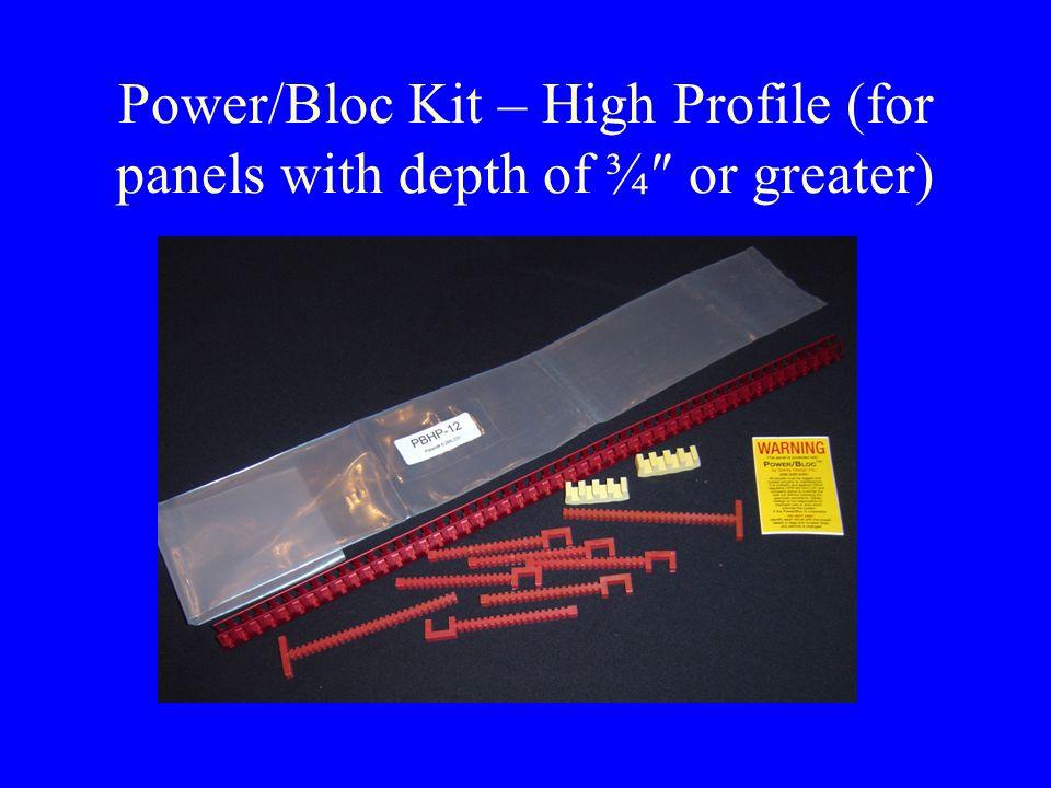 High Profile Panels