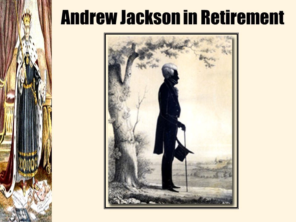Failures –Growing social stratification Gap between rich and poor visibly widened –Jackson's financial policies and lack of a national bank helped lead to the Panic of 1837, which was a serious depression that lasted until 1843 Failures –Growing social stratification Gap between rich and poor visibly widened –Jackson's financial policies and lack of a national bank helped lead to the Panic of 1837, which was a serious depression that lasted until 1843