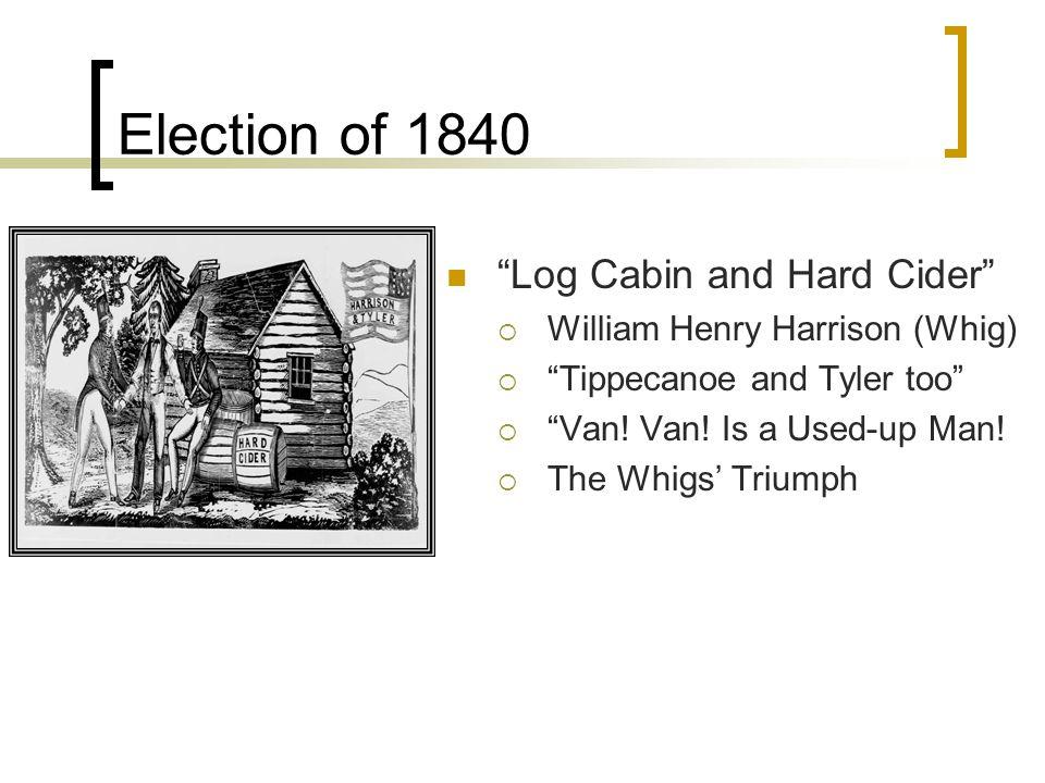"""V.P. Martin Van Buren wins in 1836 Van Buren did not appeal to the common people Panic of 1837  Blamed on the Democrats  """"Van Ruin's"""" Depression """"Di"""