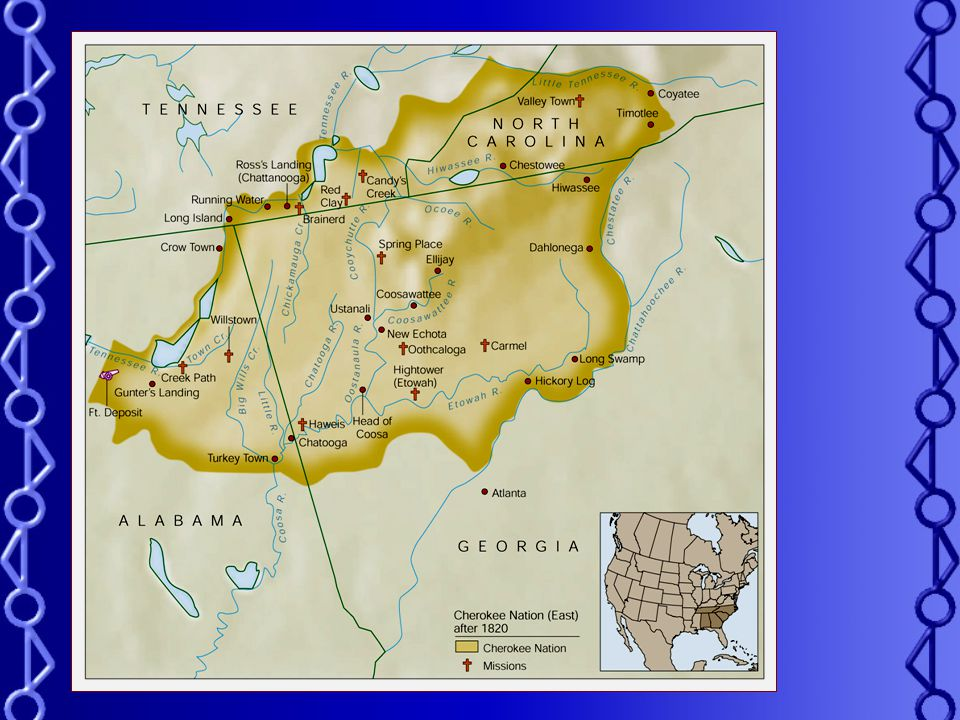 Division in the Cherokee Nation Cherokee went from being a peaceful nation to a group of people who were divided. Treaty of New EchotaSome Cherokee in