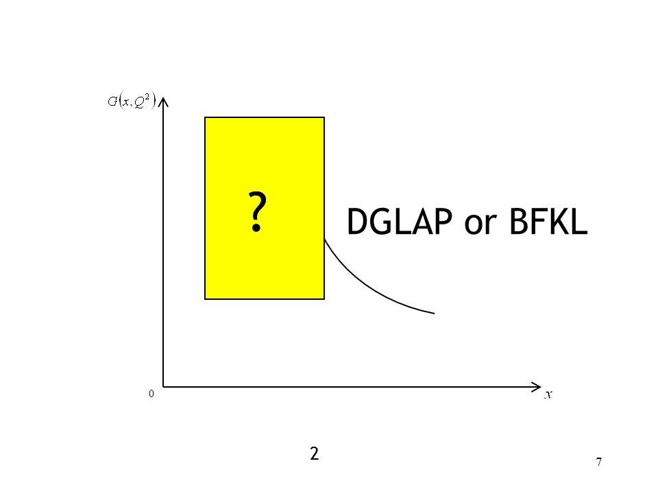 7 DGLAP or BFKL 2