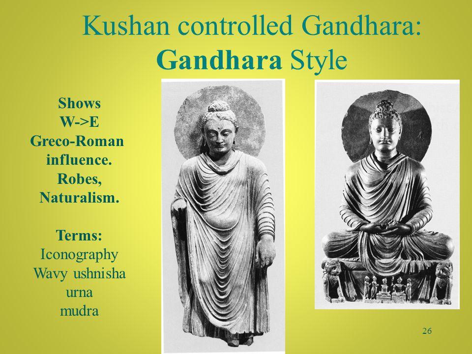 25 Stupa of Sanchi ca. 3 rd c BCE-1 st c CE Egg Mandala Jakatas vs. aniconic representation