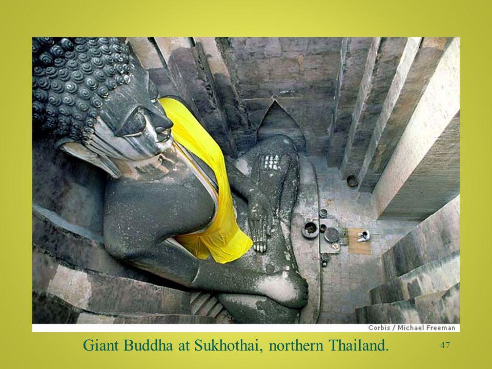 46 Sukhothai Buddha Wat Si Chum, Thailand