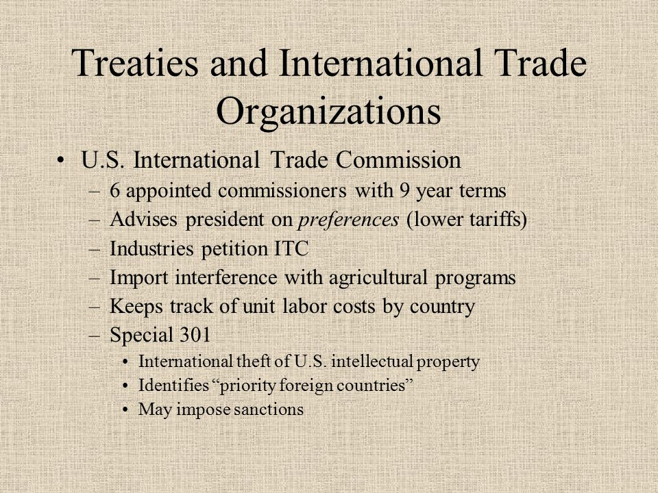 Protections in International Competition Export Trading Company Act of 1982 –Allows Jvs between competitors when outside the US –Must show the firm will not: Substantially lessen competition or restrain trade in the U.S.