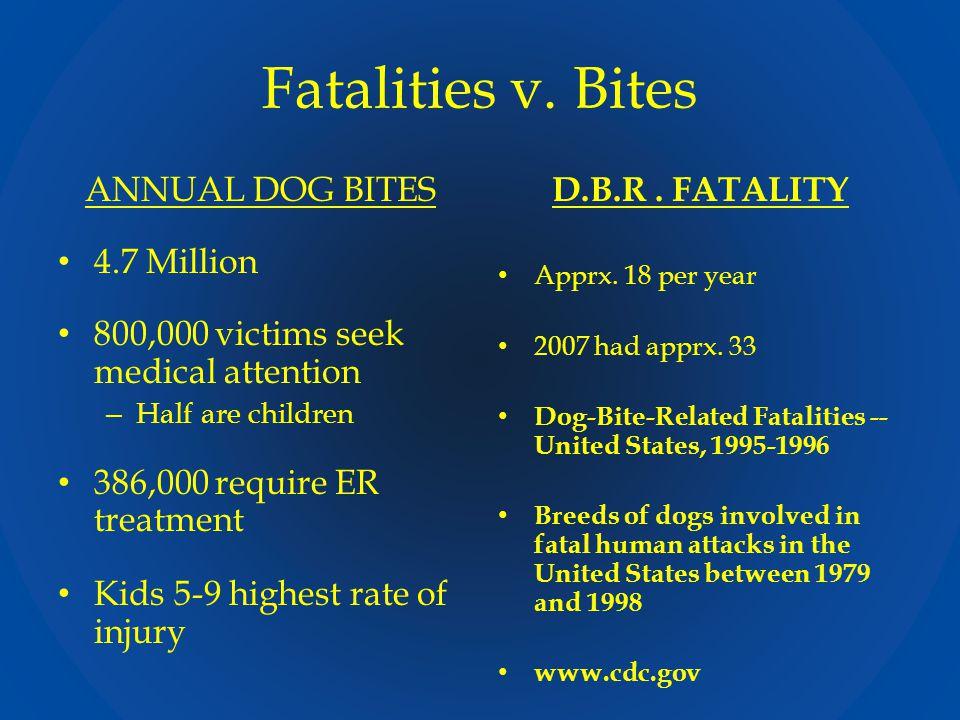 Fatalities v.