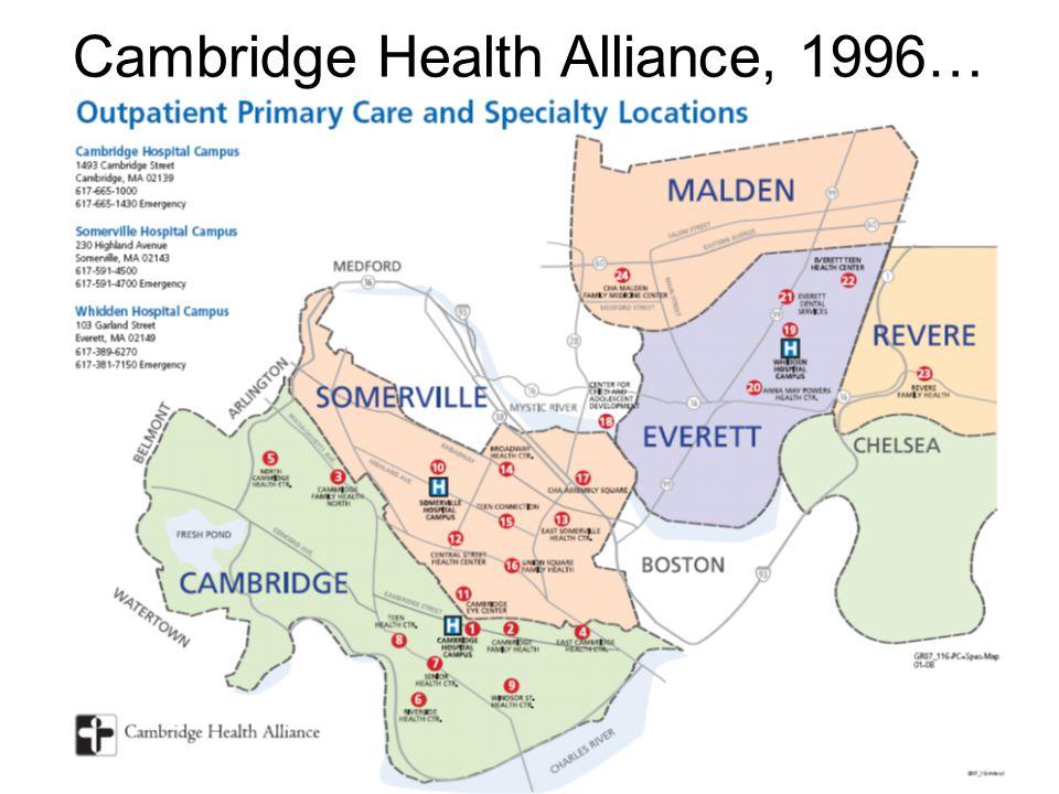 Cambridge Health Alliance, 1996…