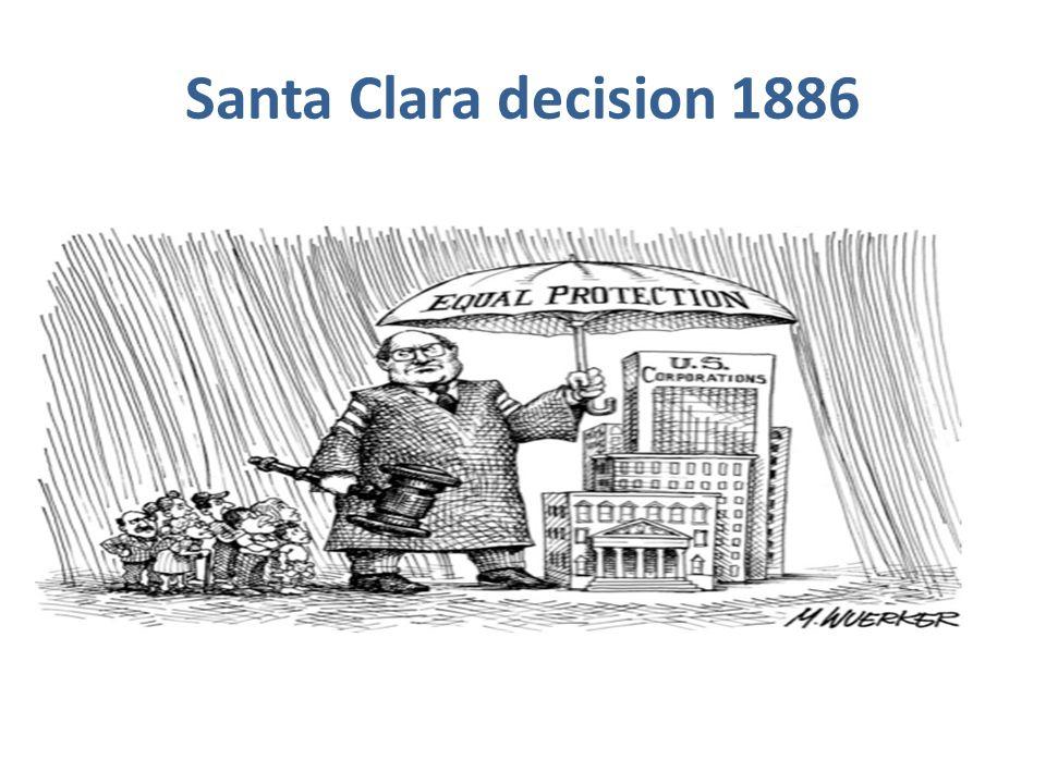 Santa Clara decision 1886
